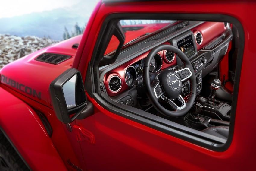 2018 Jeep Wrangler gains new hybrid turbo engine Image #748368