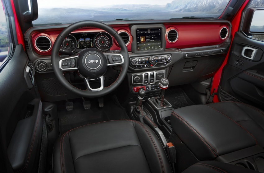 2018 Jeep Wrangler gains new hybrid turbo engine Image #748370