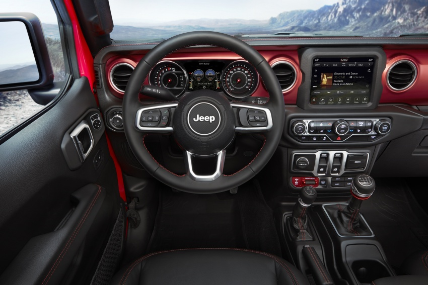 2018 Jeep Wrangler gains new hybrid turbo engine Image #748371