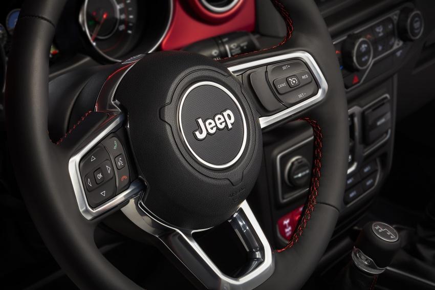 2018 Jeep Wrangler gains new hybrid turbo engine Image #748372