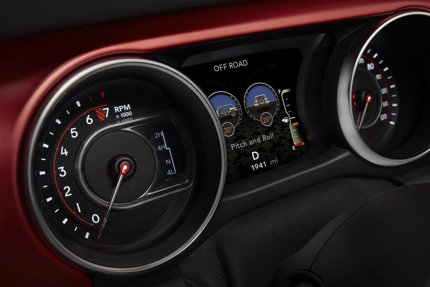 2018 Jeep Wrangler gains new hybrid turbo engine Image #748373