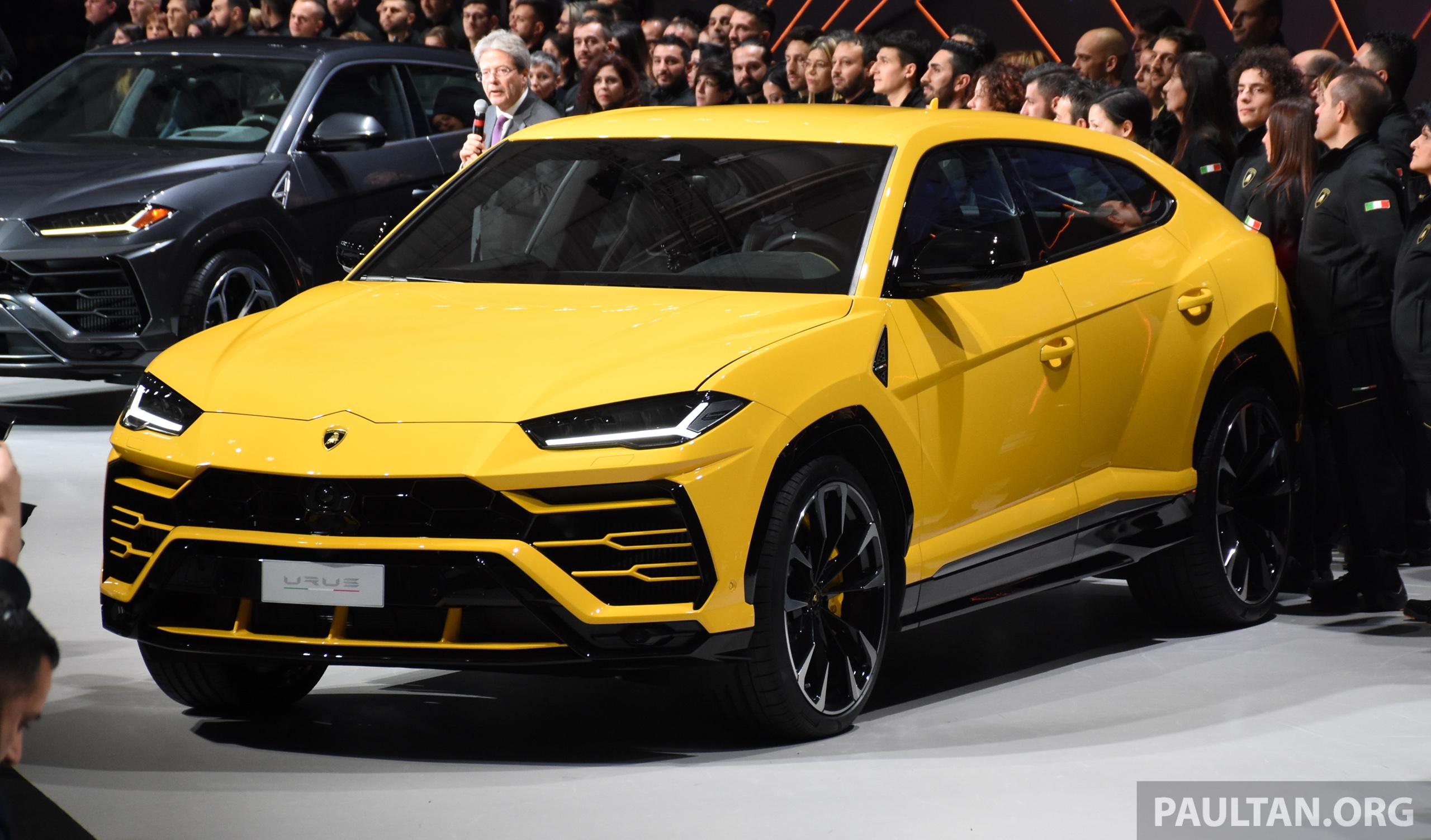 Lamborghini Urus tampil secara rasmi  SUV 650 PS, 850 Nm tork, penghantaran bermula pada tahun 2018