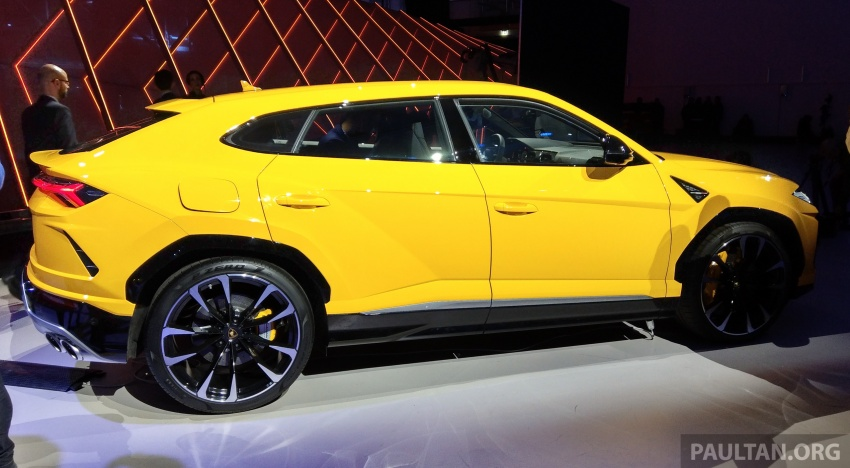 Lamborghini Urus – Sant'Agata's 650 PS, 850 Nm SUV makes its official debut, deliveries begin in 2018 Image #746924
