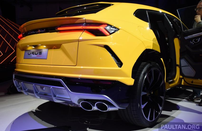 Lamborghini Urus – Sant'Agata's 650 PS, 850 Nm SUV makes its official debut, deliveries begin in 2018 Image #746925