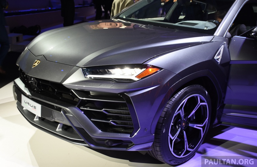 Lamborghini Urus – Sant'Agata's 650 PS, 850 Nm SUV makes its official debut, deliveries begin in 2018 Image #746926