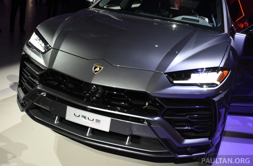 Lamborghini Urus – Sant'Agata's 650 PS, 850 Nm SUV makes its official debut, deliveries begin in 2018 Image #746927