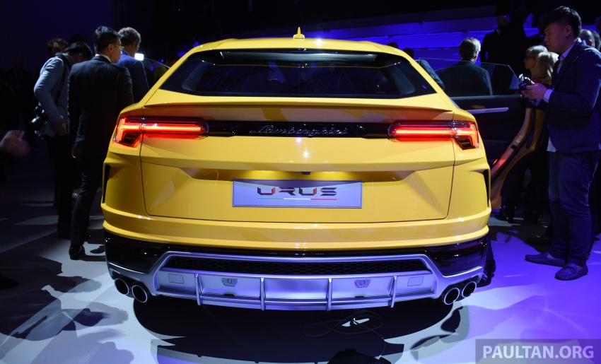 Lamborghini Urus – Sant'Agata's 650 PS, 850 Nm SUV makes its official debut, deliveries begin in 2018 Image #746936