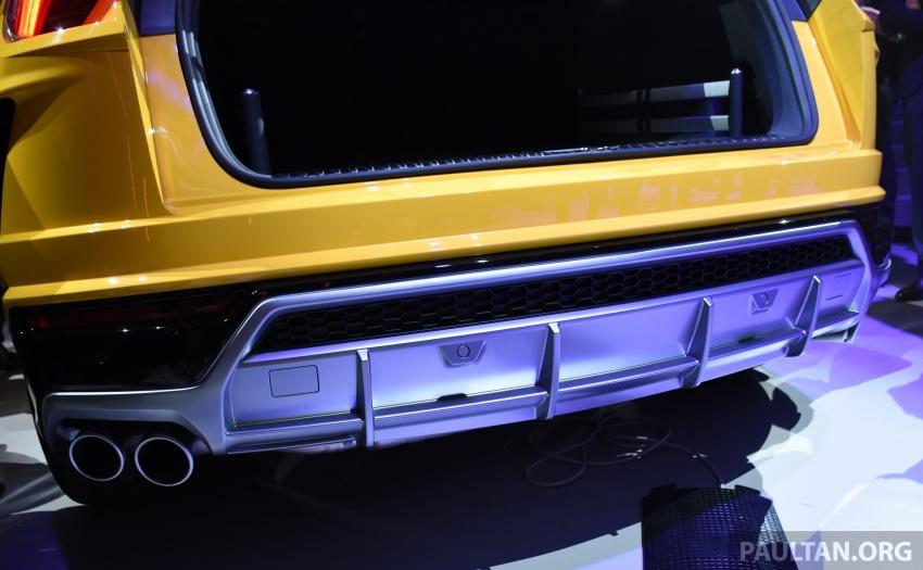 Lamborghini Urus tampil secara rasmi – SUV 650 PS, 850 Nm tork, penghantaran bermula pada tahun 2018 Image #747186