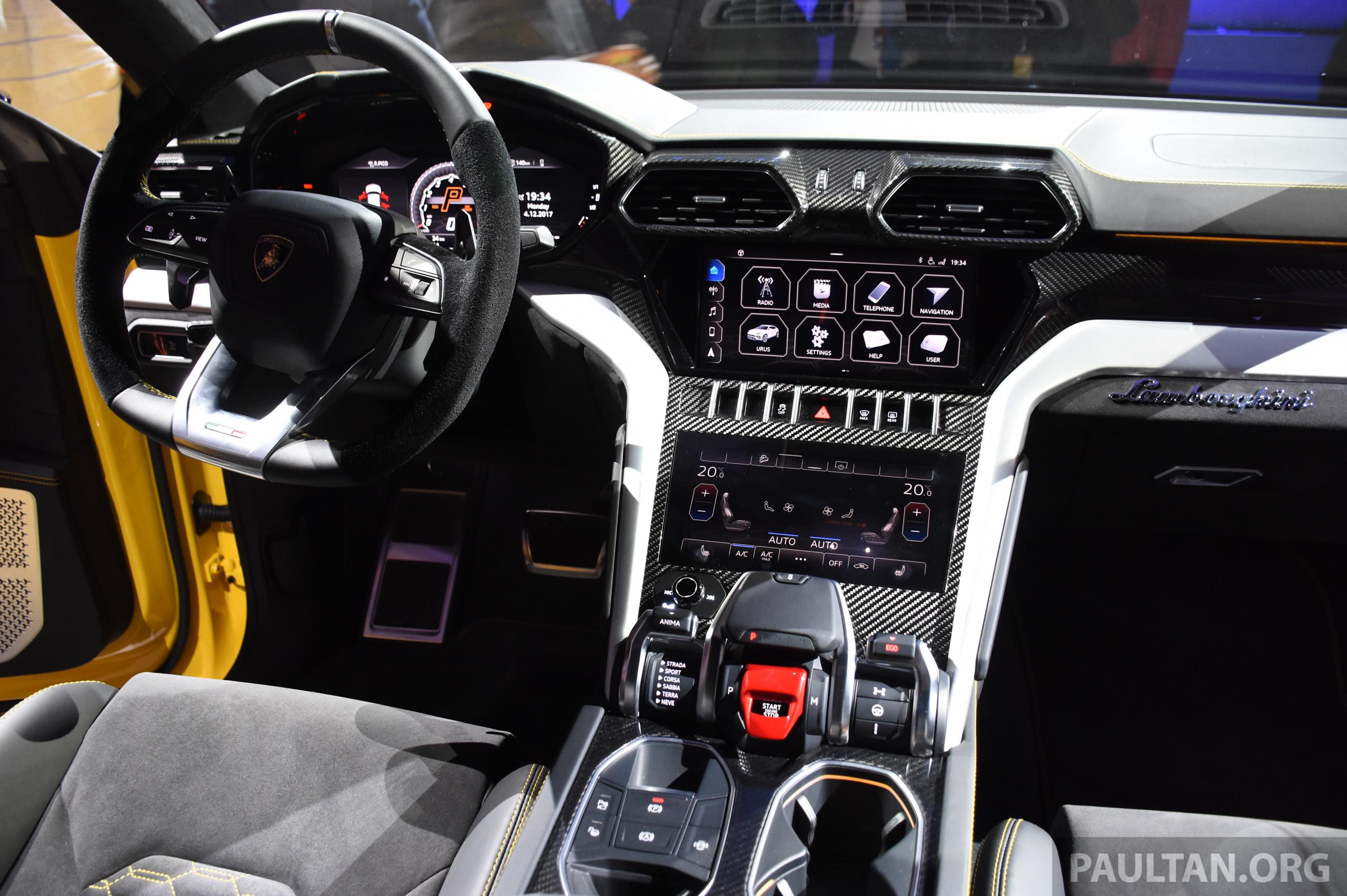 Lamborghini Urus Price In Malaysia >> Lamborghini Urus tampil secara rasmi – SUV 650 PS, 850 Nm tork, penghantaran bermula pada tahun ...