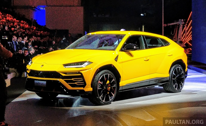 Lamborghini Urus – Sant'Agata's 650 PS, 850 Nm SUV makes its official debut, deliveries begin in 2018 Image #746917