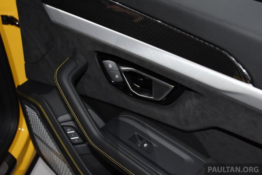 Lamborghini Urus – Sant'Agata's 650 PS, 850 Nm SUV makes its official debut, deliveries begin in 2018 Image #746963