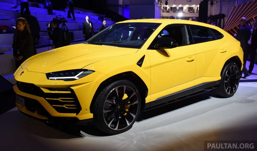Lamborghini Urus – Sant'Agata's 650 PS, 850 Nm SUV makes its official debut, deliveries begin in 2018 Image #746918
