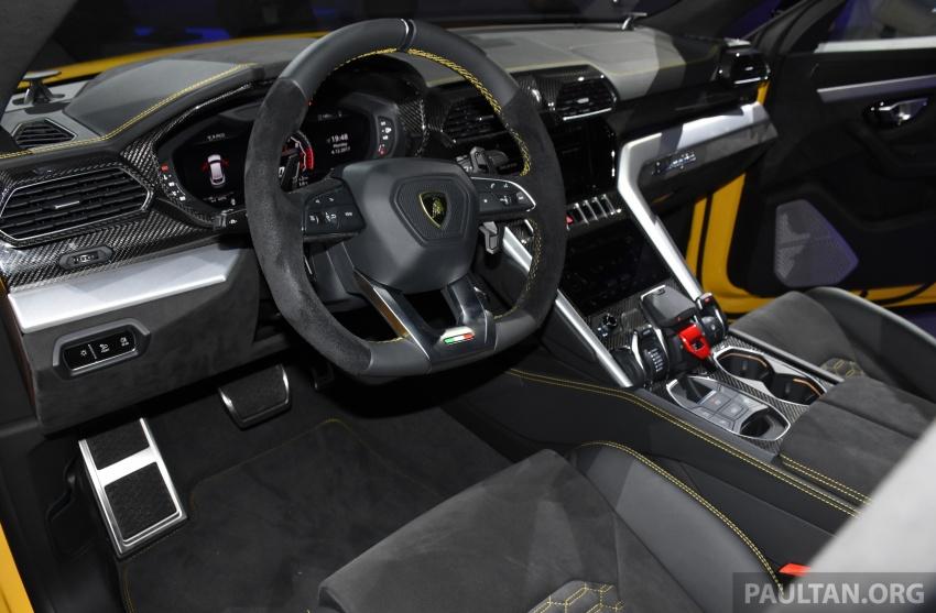 Lamborghini Urus – Sant'Agata's 650 PS, 850 Nm SUV makes its official debut, deliveries begin in 2018 Image #746964