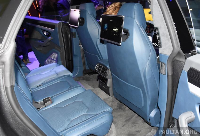 Lamborghini Urus – Sant'Agata's 650 PS, 850 Nm SUV makes its official debut, deliveries begin in 2018 Image #746966