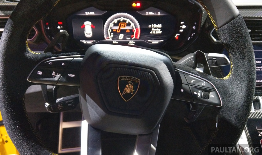 Lamborghini Urus – Sant'Agata's 650 PS, 850 Nm SUV makes its official debut, deliveries begin in 2018 Image #746967