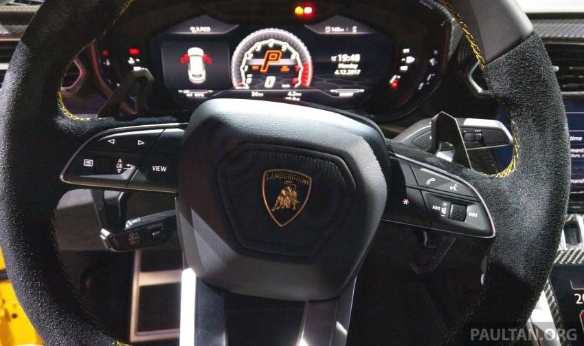 Lamborghini Urus – Sant'Agata's 650 PS, 850 Nm SUV makes its official debut, deliveries begin in 2018 Image #746967