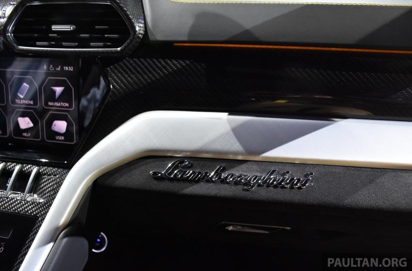 Lamborghini Urus – Sant'Agata's 650 PS, 850 Nm SUV makes its official debut, deliveries begin in 2018 Image #746970