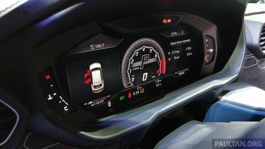 Lamborghini Urus – Sant'Agata's 650 PS, 850 Nm SUV makes its official debut, deliveries begin in 2018 Image #746972