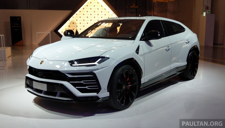 Lamborghini Urus – Sant'Agata's 650 PS, 850 Nm SUV makes its official debut, deliveries begin in 2018 Image #746919