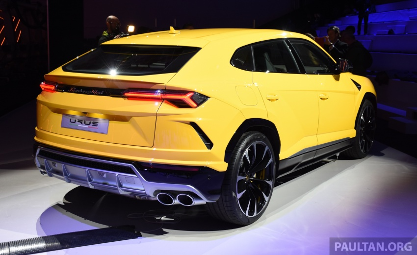 Lamborghini Urus – Sant'Agata's 650 PS, 850 Nm SUV makes its official debut, deliveries begin in 2018 Image #746980