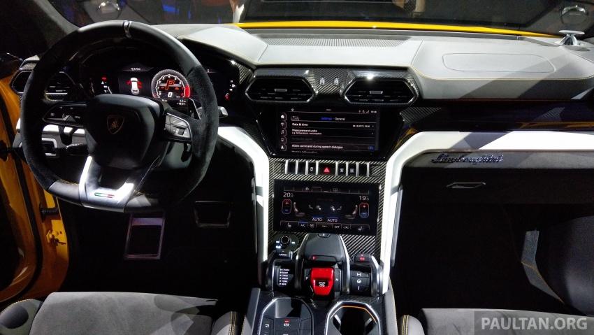 Lamborghini Urus – Sant'Agata's 650 PS, 850 Nm SUV makes its official debut, deliveries begin in 2018 Image #747155