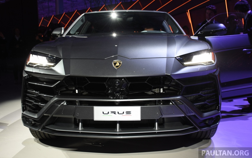 Lamborghini Urus – Sant'Agata's 650 PS, 850 Nm SUV makes its official debut, deliveries begin in 2018 Image #746920