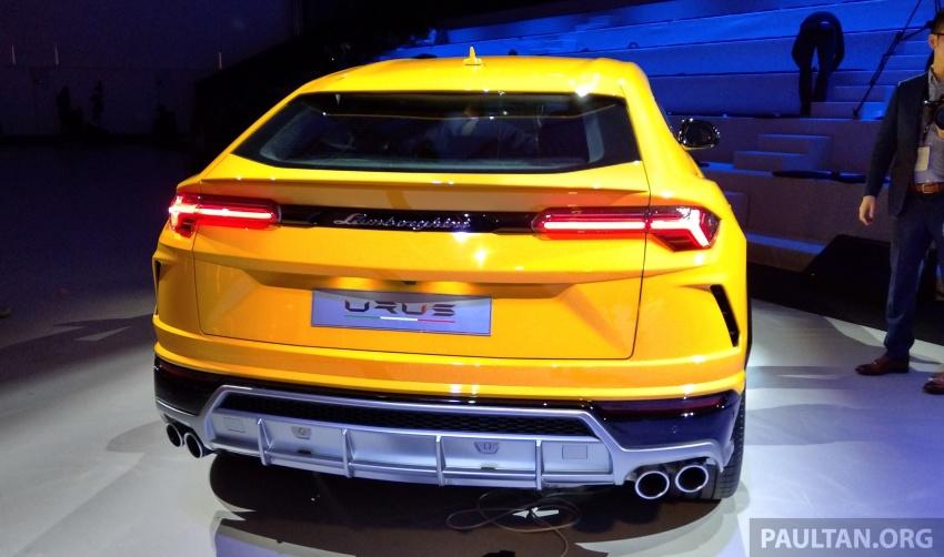 Lamborghini Urus tampil secara rasmi – SUV 650 PS, 850 Nm tork, penghantaran bermula pada tahun 2018 Image #747169