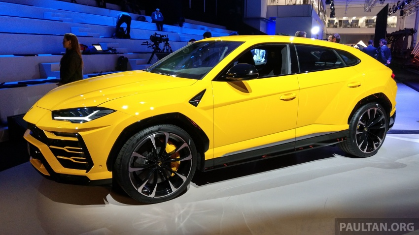 Lamborghini Urus – Sant'Agata's 650 PS, 850 Nm SUV makes its official debut, deliveries begin in 2018 Image #746923