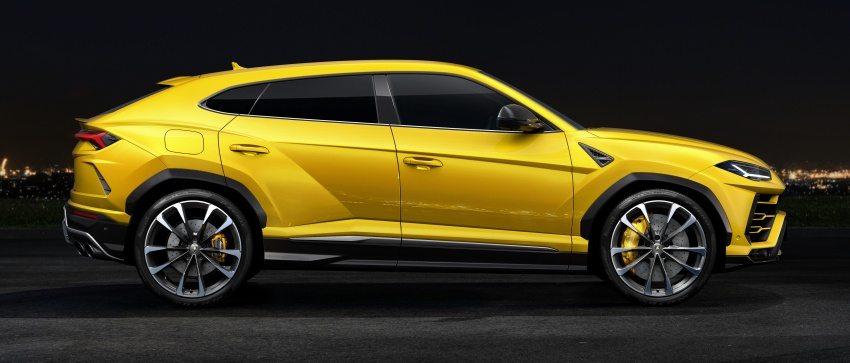 Lamborghini Urus – Sant'Agata's 650 PS, 850 Nm SUV makes its official debut, deliveries begin in 2018 Image #747838