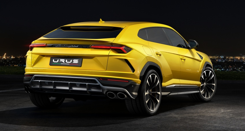 Lamborghini Urus – Sant'Agata's 650 PS, 850 Nm SUV makes its official debut, deliveries begin in 2018 Image #747839