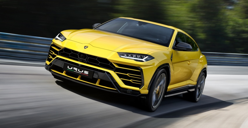 Lamborghini Urus – Sant'Agata's 650 PS, 850 Nm SUV makes its official debut, deliveries begin in 2018 Image #747840