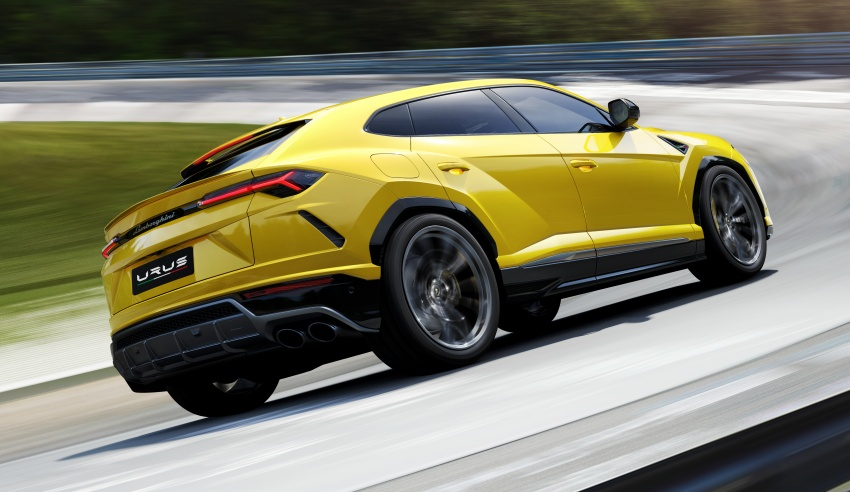 Lamborghini Urus – Sant'Agata's 650 PS, 850 Nm SUV makes its official debut, deliveries begin in 2018 Image #747841