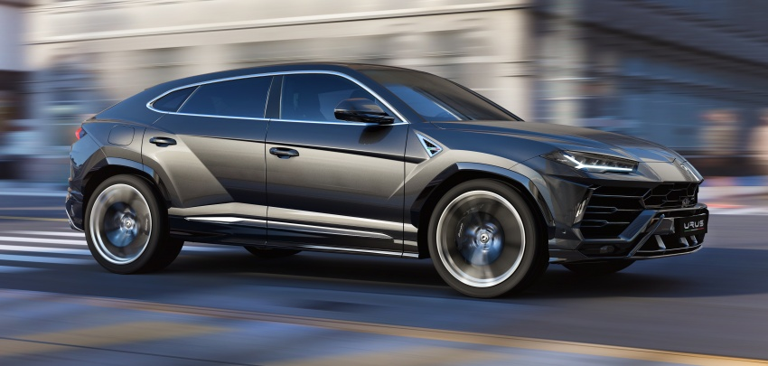 Lamborghini Urus – Sant'Agata's 650 PS, 850 Nm SUV makes its official debut, deliveries begin in 2018 Image #747843
