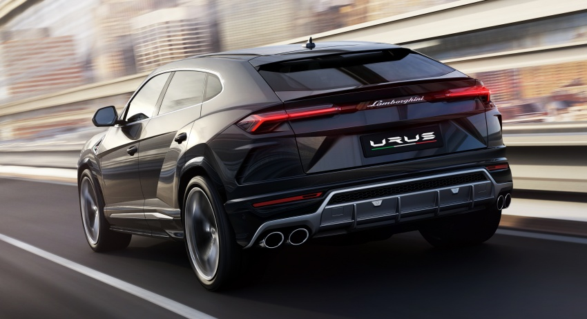 Lamborghini Urus – Sant'Agata's 650 PS, 850 Nm SUV makes its official debut, deliveries begin in 2018 Image #747849