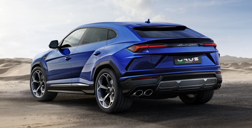 Lamborghini Urus – Sant'Agata's 650 PS, 850 Nm SUV makes its official debut, deliveries begin in 2018 Image #747865