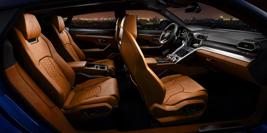 Lamborghini Urus – Sant'Agata's 650 PS, 850 Nm SUV makes its official debut, deliveries begin in 2018 Image #747889