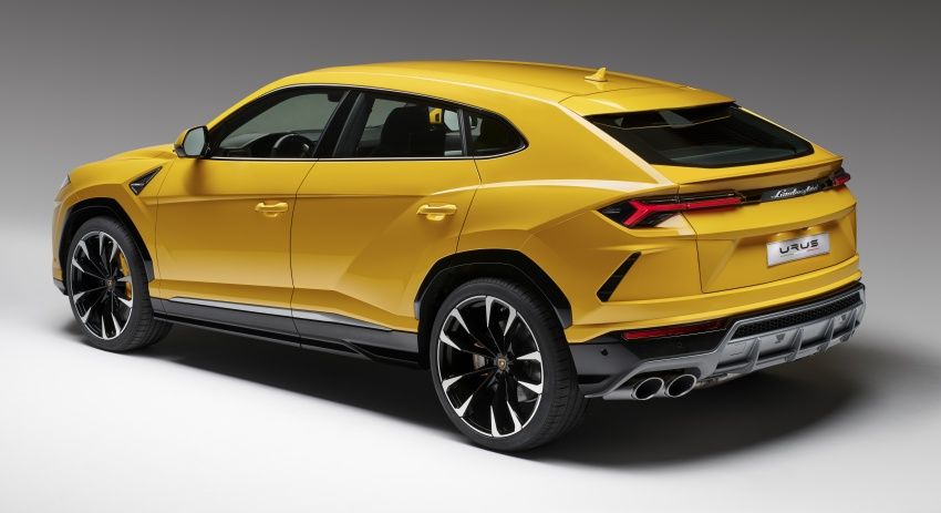 Lamborghini Urus – Sant'Agata's 650 PS, 850 Nm SUV makes its official debut, deliveries begin in 2018 Image #747800