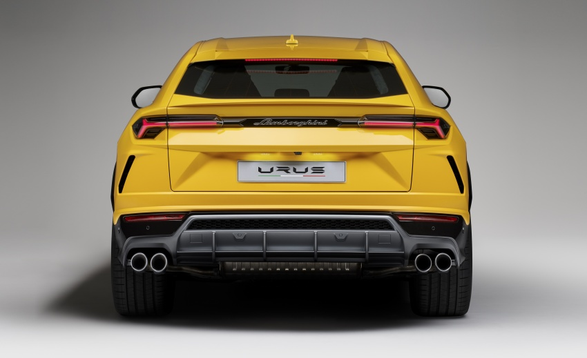 Lamborghini Urus – Sant'Agata's 650 PS, 850 Nm SUV makes its official debut, deliveries begin in 2018 Image #747833