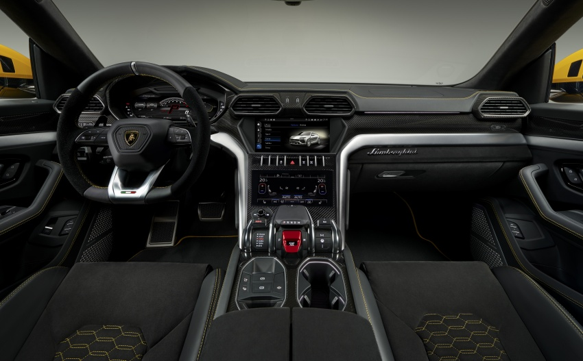 Lamborghini Urus – Sant'Agata's 650 PS, 850 Nm SUV makes its official debut, deliveries begin in 2018 Image #747834