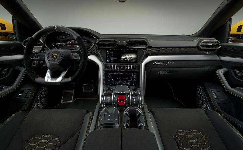 Lamborghini Urus – Sant'Agata's 650 PS, 850 Nm SUV makes its official debut, deliveries begin in 2018 Image #747834