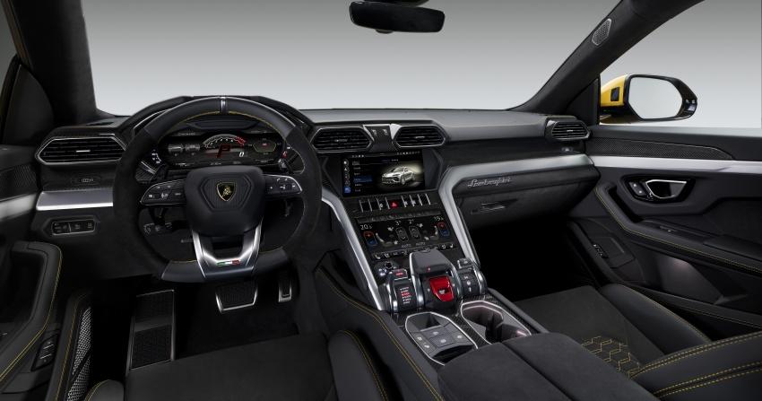 Lamborghini Urus – Sant'Agata's 650 PS, 850 Nm SUV makes its official debut, deliveries begin in 2018 Image #747835