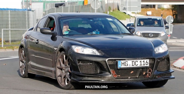 SPYSHOTS: Mazda RX 9 Seen Testing In RX 8 Clothes