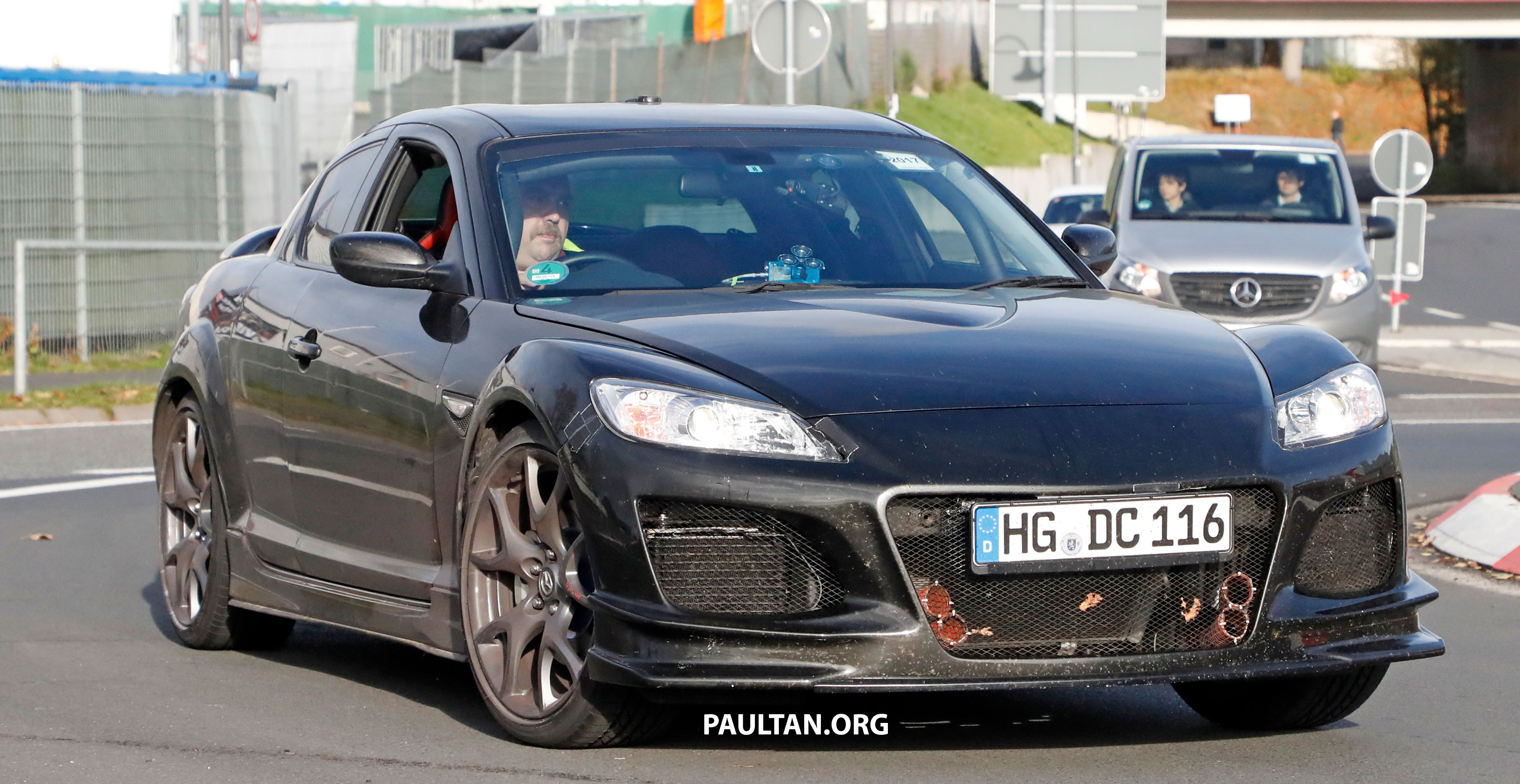 SPYSHOTS Mazda RX 9 seen testing in RX 8 clothes