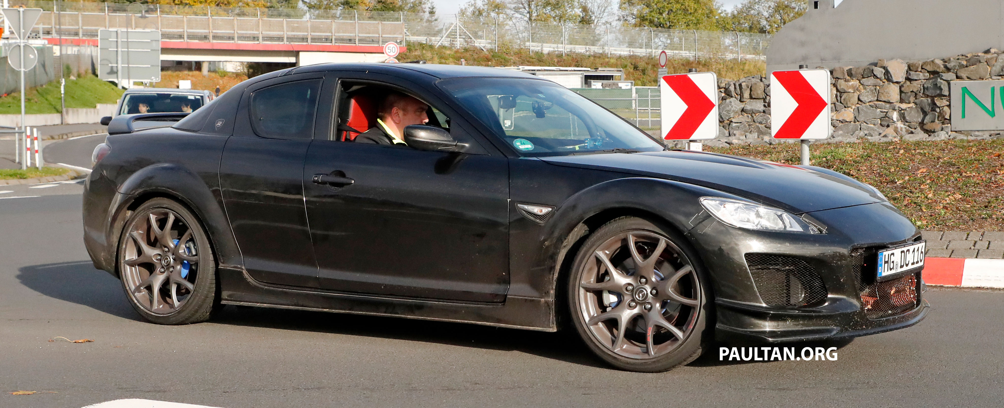 SPYSHOTS Mazda RX 9 seen testing in RX 8 clothes Paul Tan Image