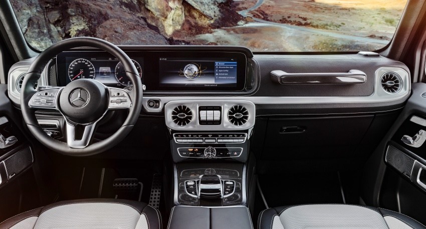New Mercedes G-Class – fresh pics, full interior details Image #752426