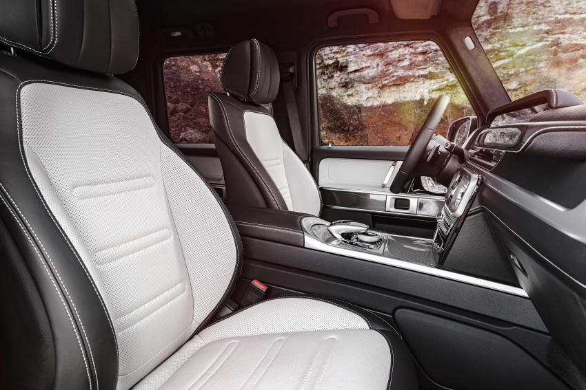 New Mercedes G-Class – fresh pics, full interior details Image #752429