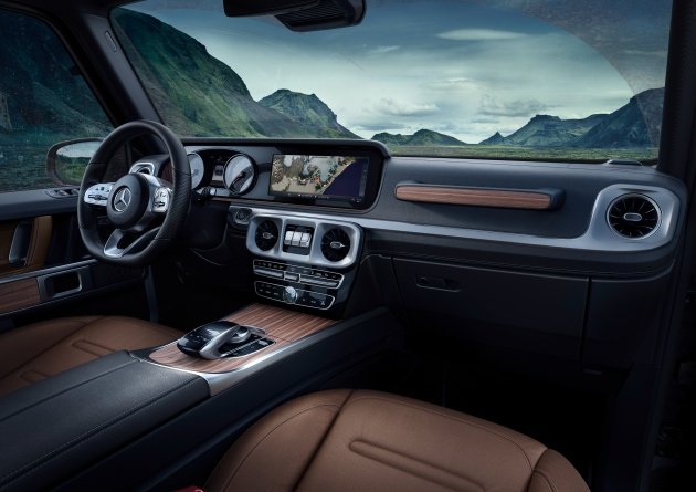 Mercedes Benz Released Official Interior Images Of The New 2019 Mercedes Benz  G Class Last Week, And Here Are More Shots Of The Geländewagenu0027s All New  Cabin ...