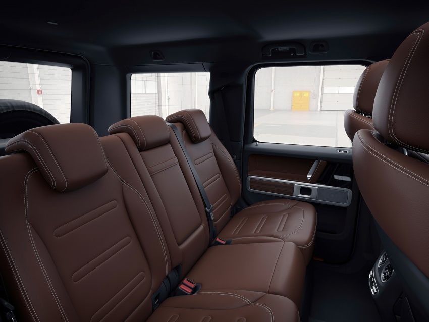 New Mercedes G-Class – fresh pics, full interior details Image #752434