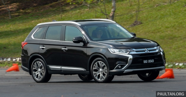 Review on mitsubishi outlander