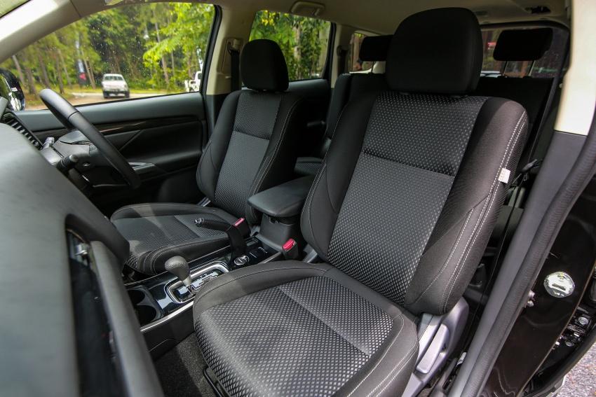 PANDU UJI: Mitsubishi Outlander 2.0L 4WD CKD – harga, kelengkapan jadi kelebihan; itu sudah cukup? Image #748116